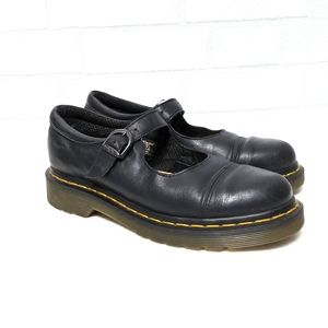 Dr. Martens Mary Jane 9856 Buckle Loafers 6